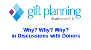 discussions with donors
