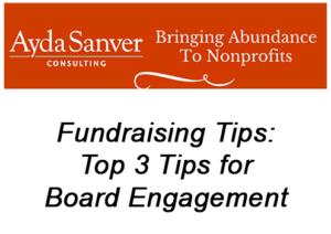 Sanver Top 3 Tips for Board Engagement