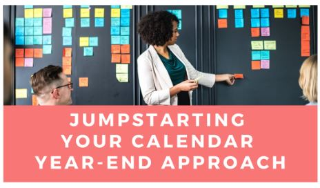 Jumpstarting Your Calendar Year-End Fundraising