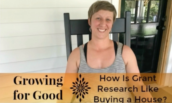 How Is Grant Research Like Buying a House?