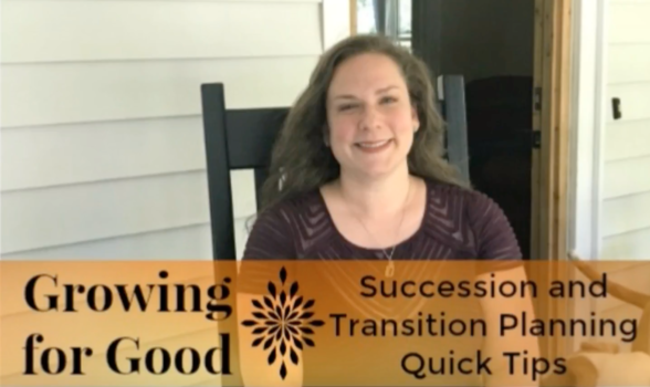 Succession and Transition Planning Quick Tips