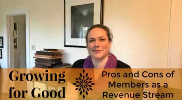 Pros and Cons of Members as a Revenue Stream