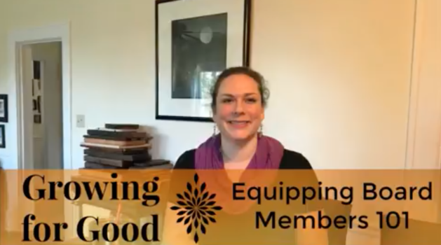 Equipping Board Members 101