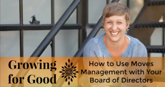 How to Use Moves Management with Your Board of Directors
