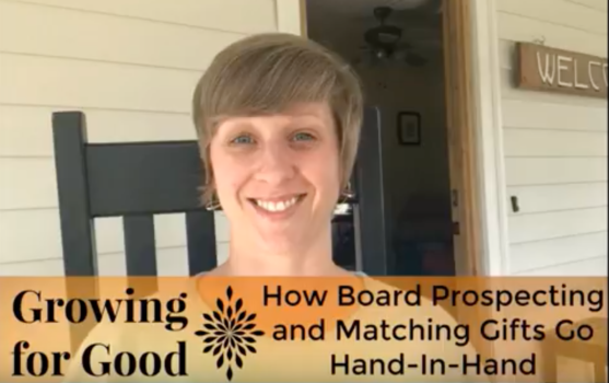 How Board Prospecting and Matching Gifts Go Hand-In-Hand