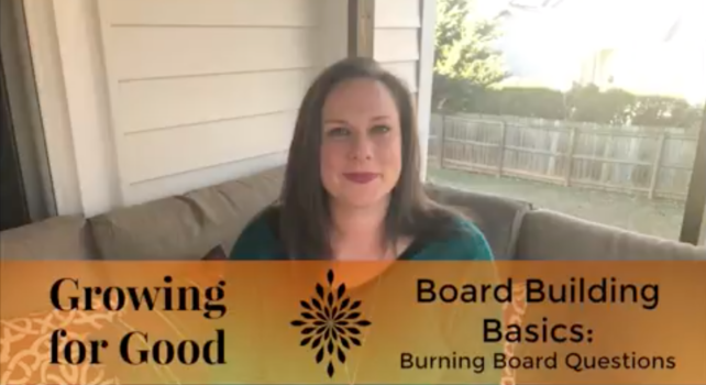 Burning Board Questions