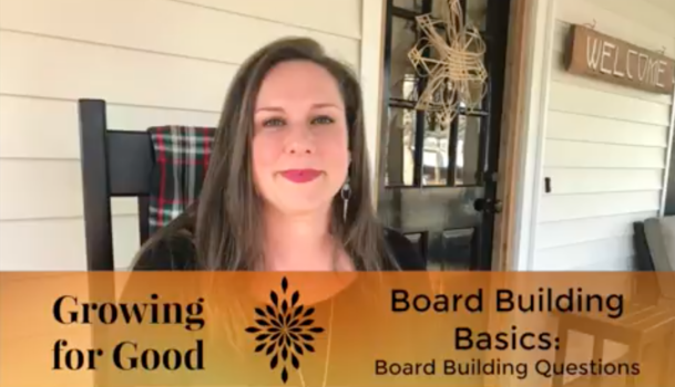 Board Building Questions