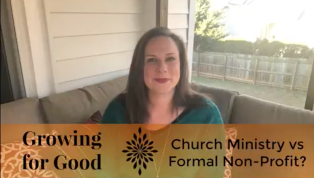 Church Ministry vs Formal Non-Profit
