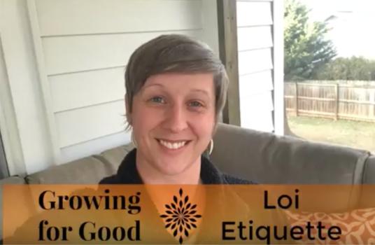 LOI Etiquette
