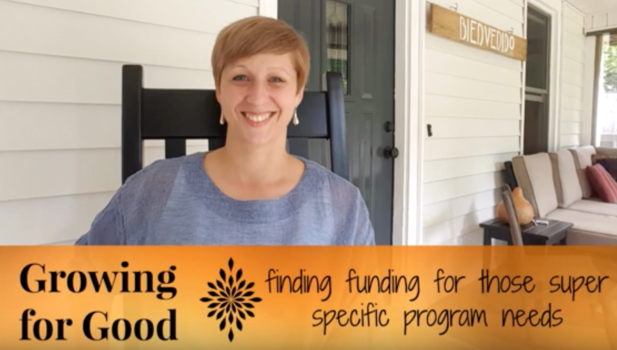 Finding Specific Funding Needs