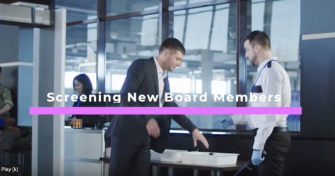 Screening New Board Members