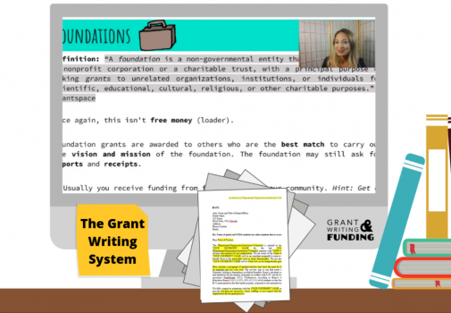 The Grant Writing System