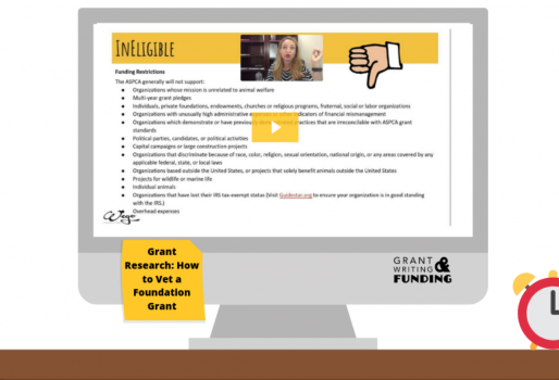 Grant Research: How to Vet a Foundation Grant