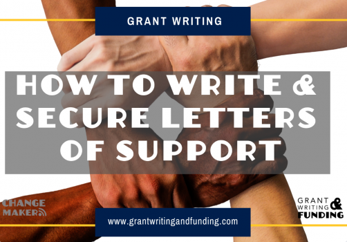 Sample Template & Audio for Top Tips to Write and Secure Letters of Support