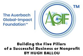Building the Five Pillars of a Successful Business or Nonprofit