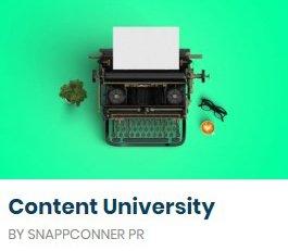 Content University course