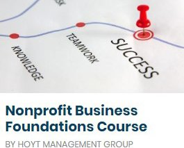 Nonprofit Business Foundations Course image