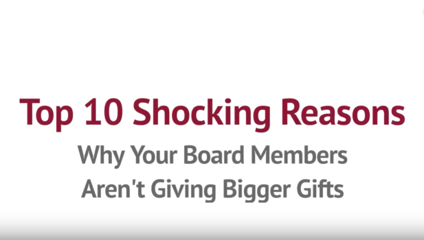 10 Reasons Board Members Would Give More