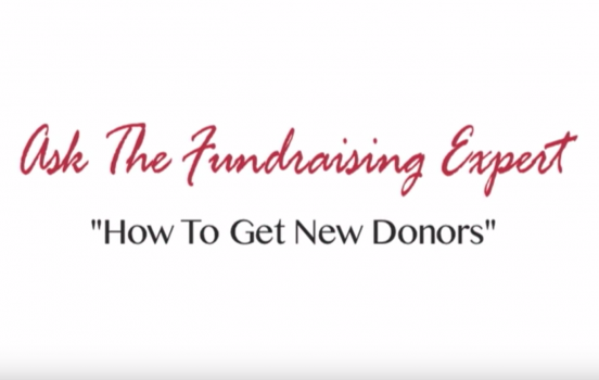 How to Get New Donors – Ask the Fundraising Expert