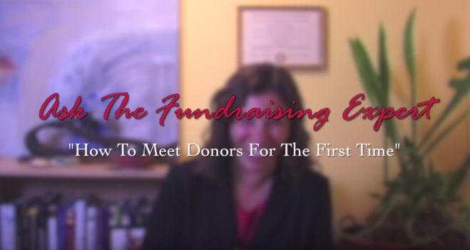 How to Meet Donors for the First Time – Ask the Fundraising Expert