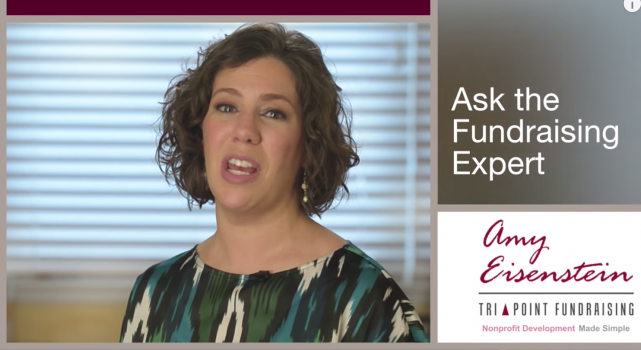 Telling Your Nonprofit's Story – Ask the Fundraising Expert