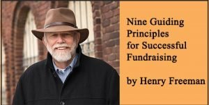 Nine Guiding Principles for Successful Fundraising