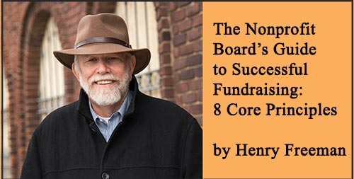 The Non-Profit Board's Guide to Successful Fundraising: 8 Core Principles