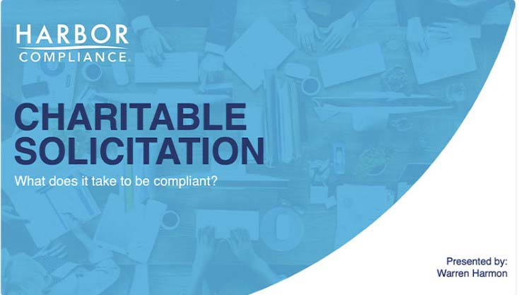 Harbor Compliance Charitable Solicitation compliance image