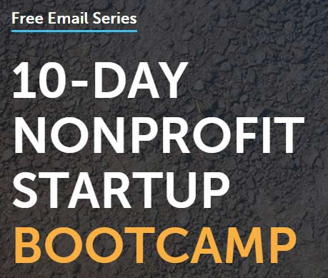 10-Day Nonprofit Startup Bootcamp