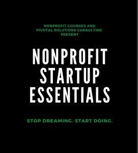 Nonprofit Startup Essentials Image