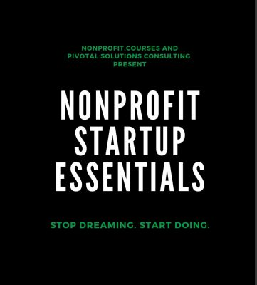 Nonprofit Startup Essentials, Handling money to build trust