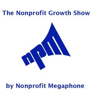 Nonprofit megaphone podcast logo