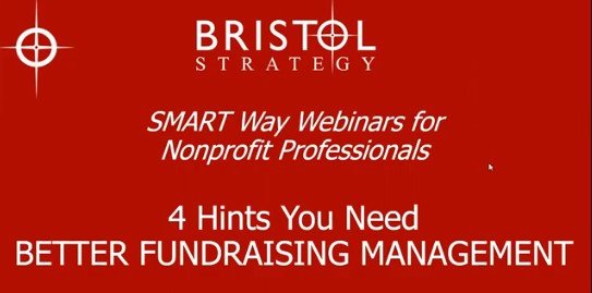 4 Hints for Better Fundraising Management