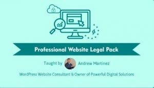 Professional Website Legal Pack