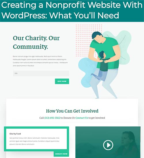 Creating a Nonprofit Website With WordPress: What You'll Need