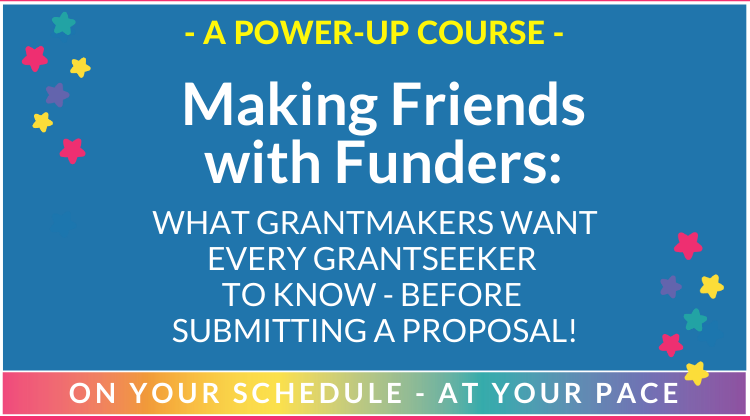 Making Friends with Funders