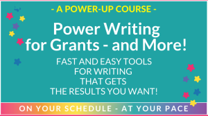 Power Writing for Grants