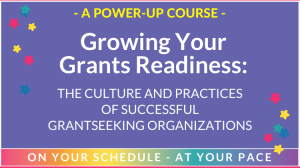 grow your grant readiness