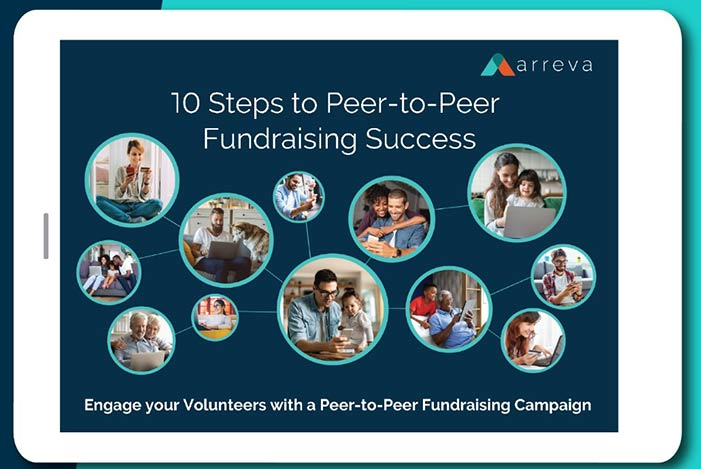 Image of 10 steps to Peer-to-Peer Fundraising Success An Infographic