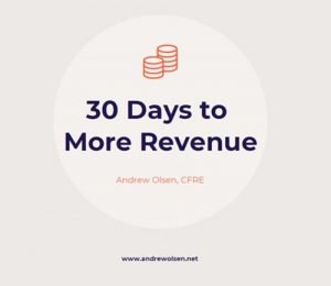 Andrew Olsen 30 days to more revenue
