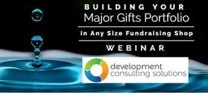 Cover image for building your major gift portfolio