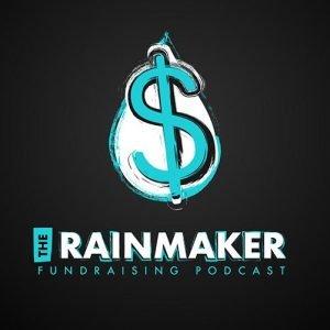 Rainmaker Fundraising Podcast Logo