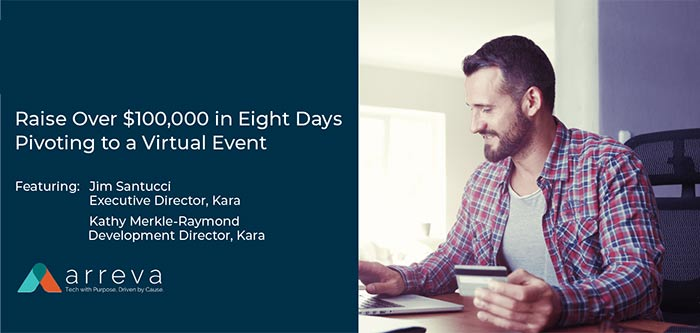Raise Over 100,000 in Eight Days Pivoting to a Virtual Event