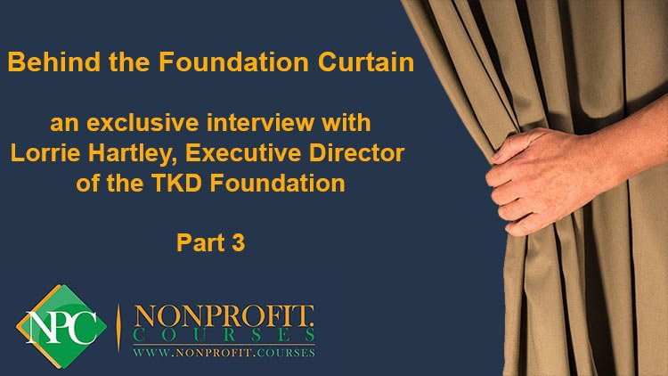 Behind the Foundation Curtain: Part 3