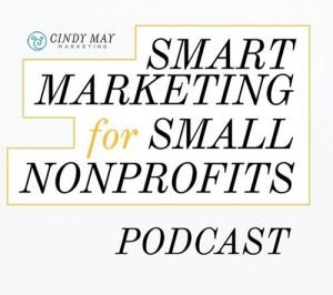 cover image for Smart Marketing for Small nonprofits by Cindy May Marketing