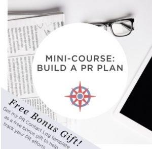 NonprofitJenni Build a PR Plan image