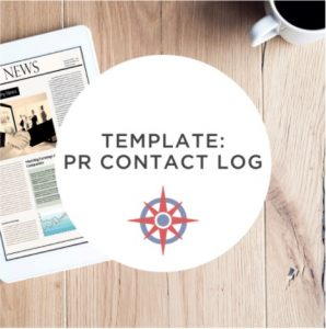 image NonprofitJenni PR Contact Log Template
