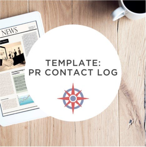 Public Relations Contact Log Template