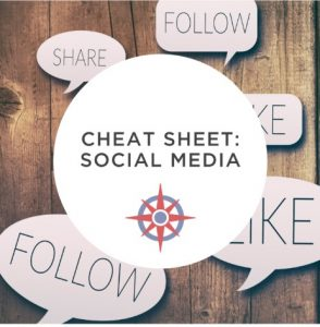 image NonprofitJenni Social Media Cheat Sheet