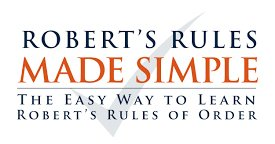 Roberts Rules of Order Made Simple logo
